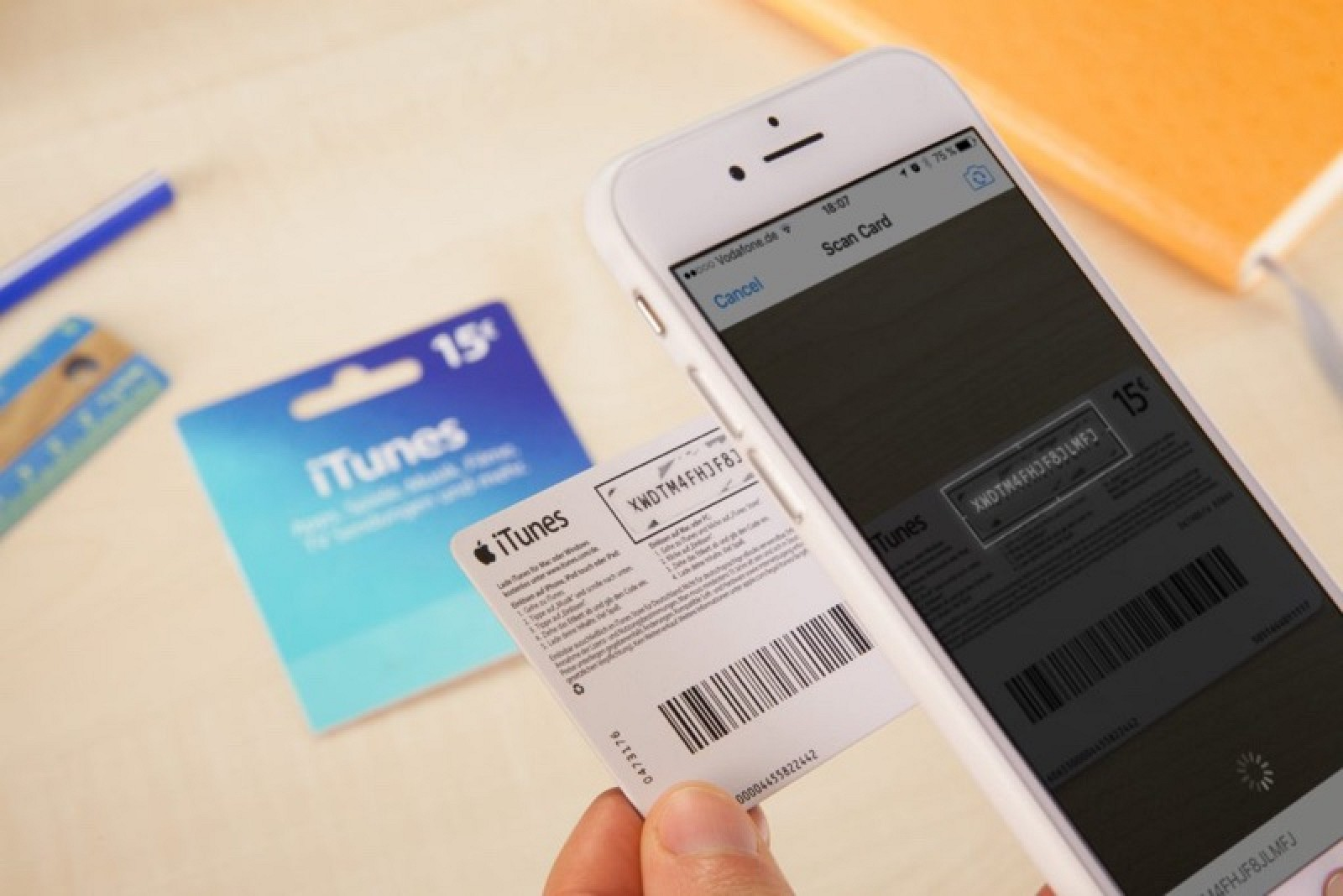 how to buy apps with itunes card