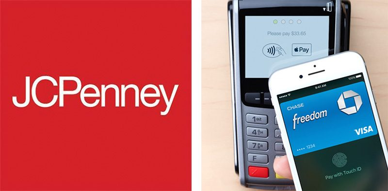 jcpenney now accepts apple pay nationwide integrates with own rh macrumors com