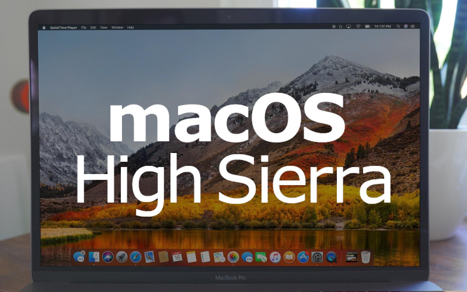 macOS High Sierra Will Be Released on September 25 - MacRumors
