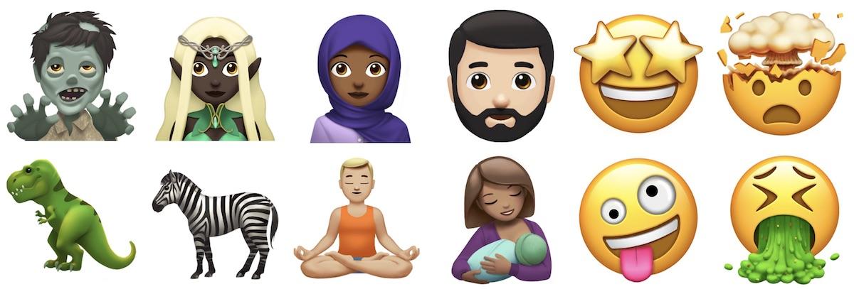 Apple připomíná nové emotikony, kterých se dočkáme ještě v tomto roce