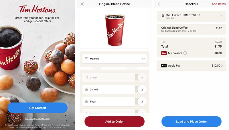 You Can Now Order Ahead At Tim Hortons Using Your Iphone With Apple
