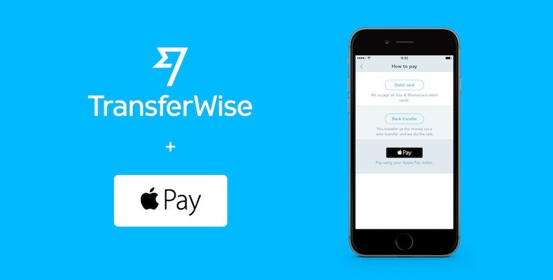 Image result for transferwise apple pay