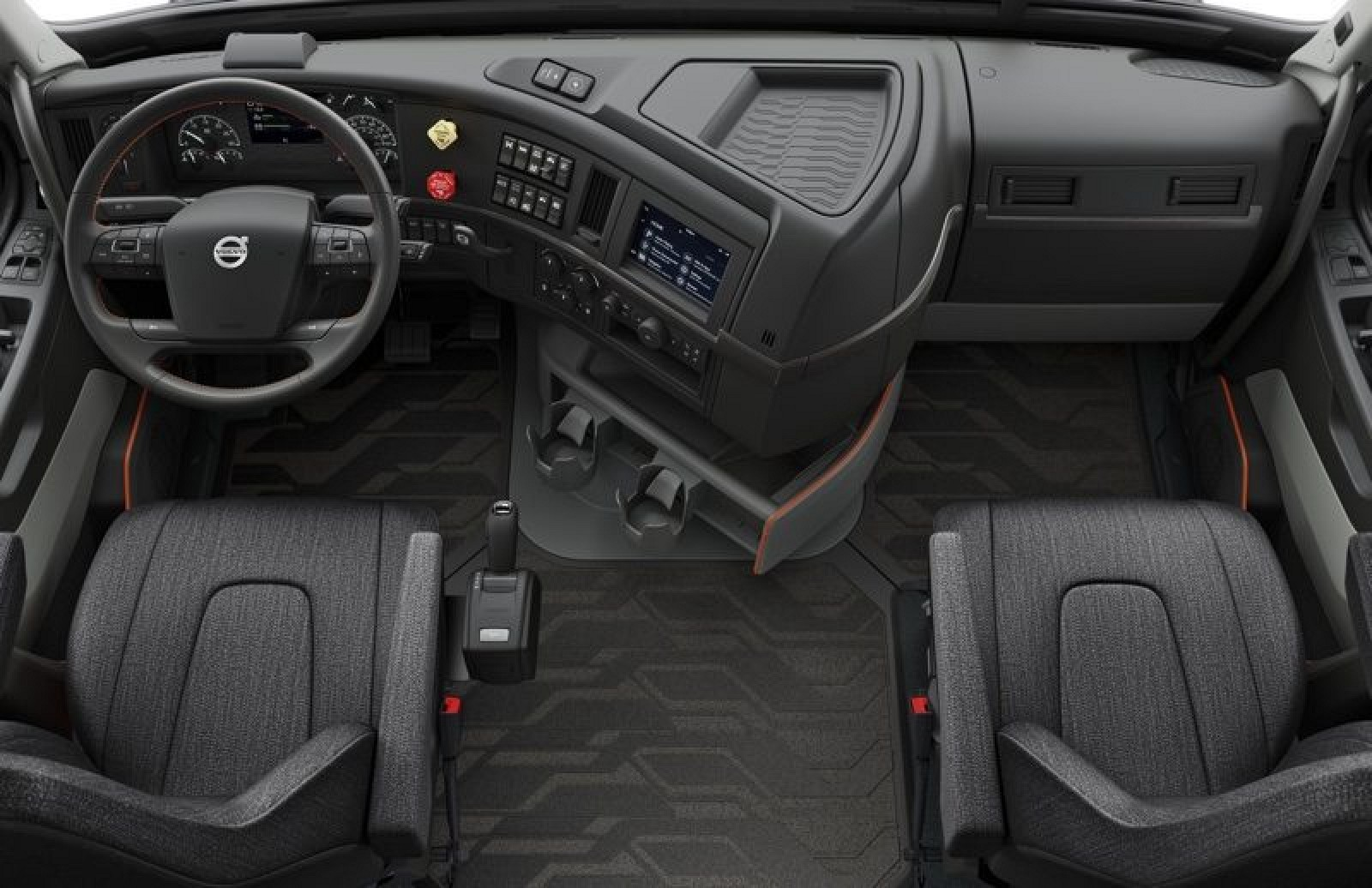 photo image Volvo's New VNL Series Semi Trucks Include CarPlay Support