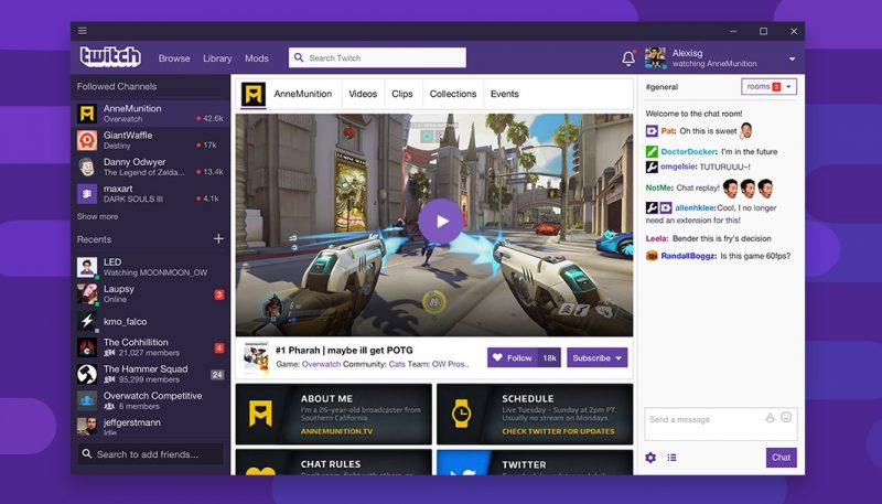 twitch vod download linux