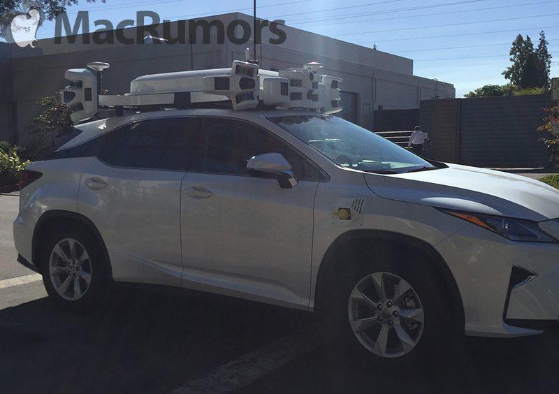 New Apple SUVs With Expansive Autonomous Driving LIDAR Setup Spotted