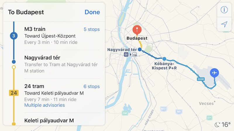 Apple Maps Transit Directions Now Available In Hungary Mac Rumors - Map of iphone users in us