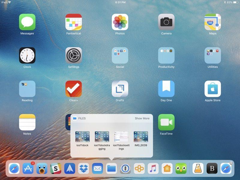 How to Use the New iPad Dock in iOS 11 - MacRumors