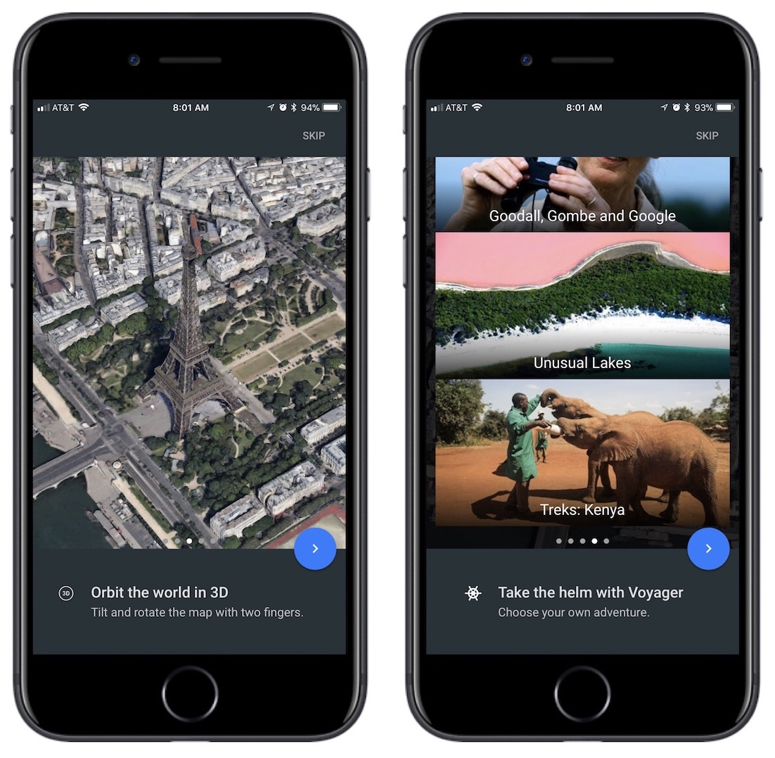 Google earth ios app updated with flyover like 3d views and 64 bit places around the world with information like the best museums parks and landmarks broken down in categories including editors picks travel nature gumiabroncs Gallery
