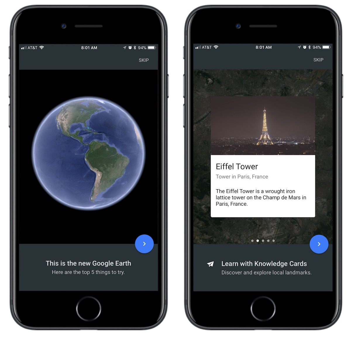 Earth Versions – Google Earth