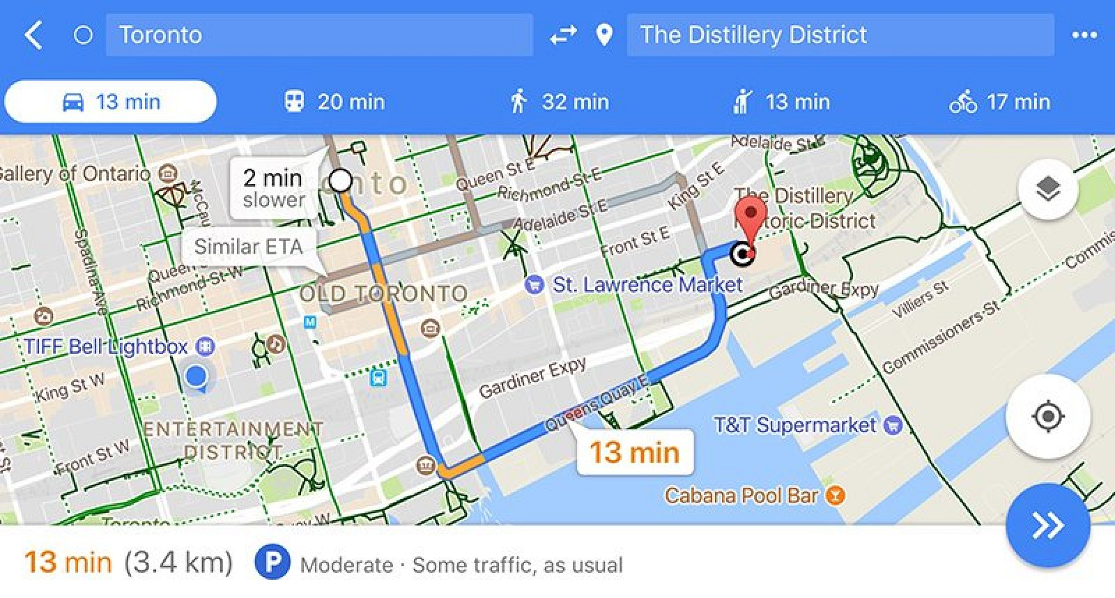 Google maps expands parking difficulty indicator to 25 cities google maps expands parking difficulty indicator to 25 cities around the world mac rumors gumiabroncs Gallery