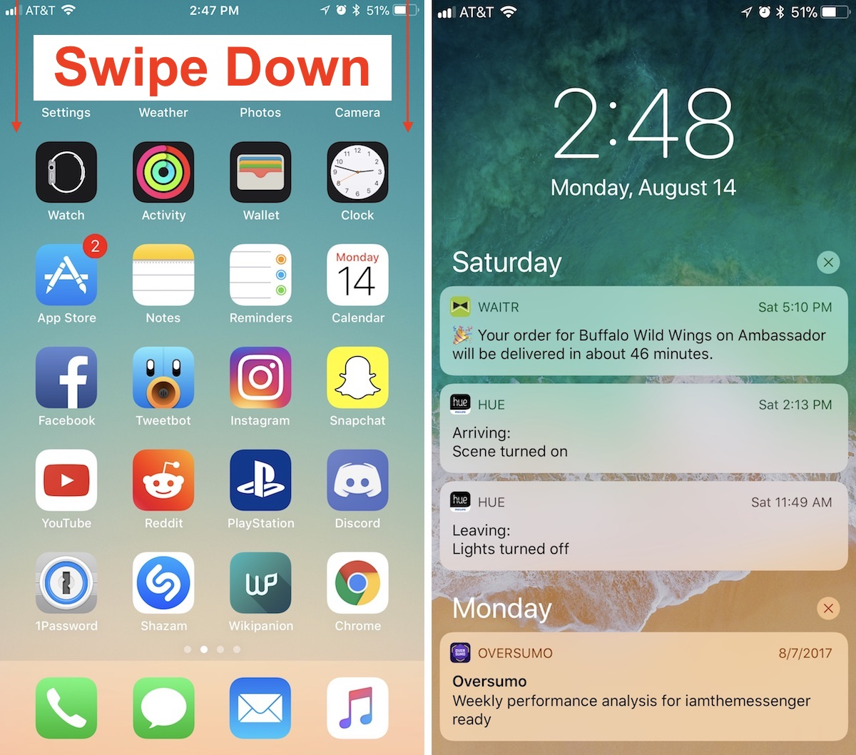 How to Find Notifications in iOS 11's New Lock Screen and