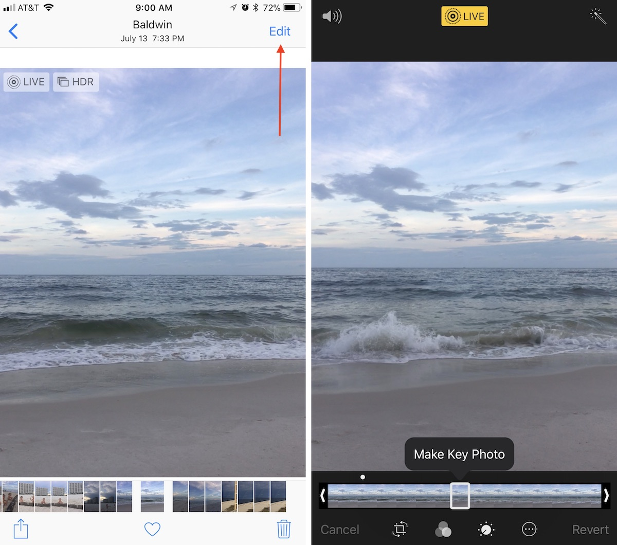 How to Edit Live Photos in iOS 11