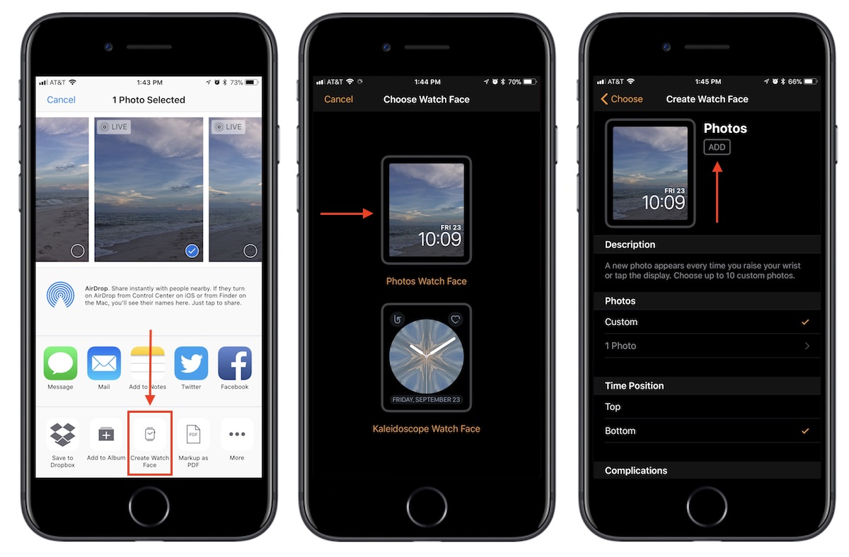 How To Turn A Photo Into An Apple Watch Face Macrumors