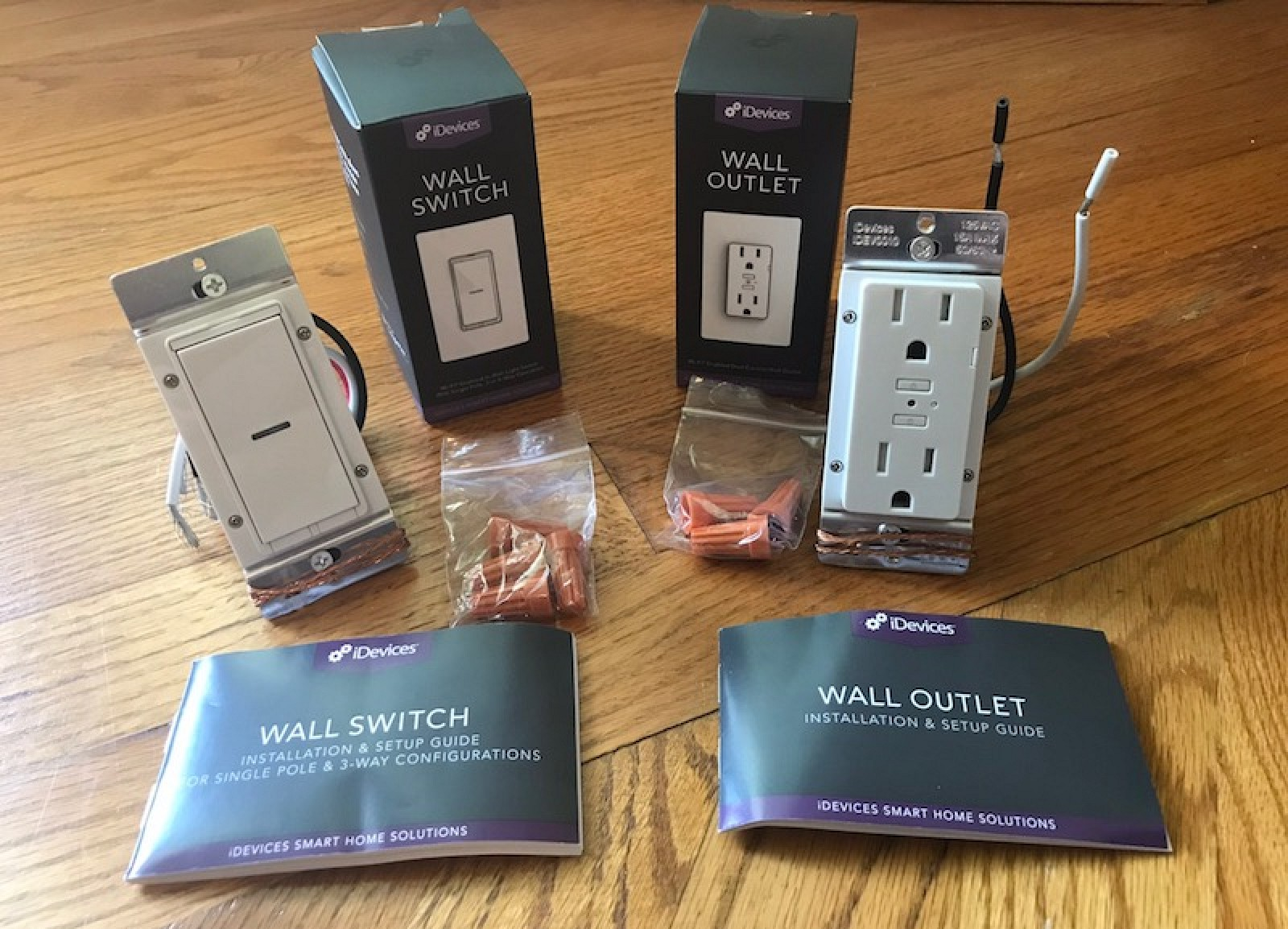 Review Idevices Switches And Outlets Bring Homekit To Your Wiring A Switch Off Plug Existing Lights Home Appliances Macrumors