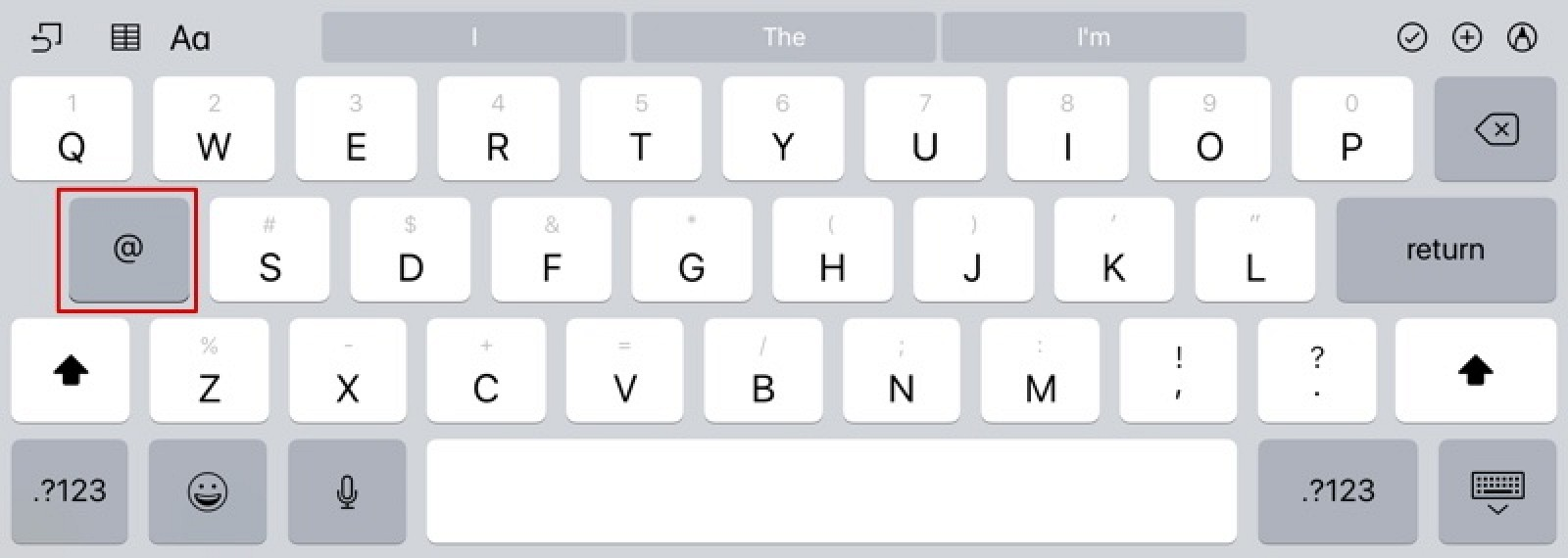 How to Use the iPad's Nifty Flick Keyboard Feature - MacRumors