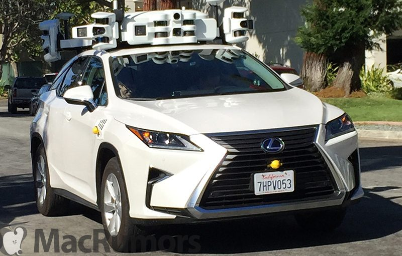 apple self driving car involved in minor collision on october 15