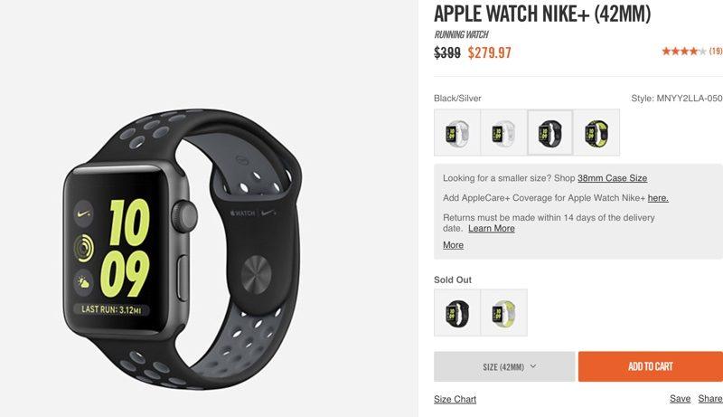 bas prix a7542 18ecf Nike Offering 30% Discount on Apple Watch Nike+ Models ...