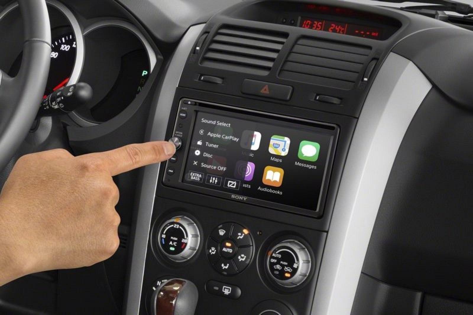 Sony Introduces New Aftermarket Carplay And Siri Eyes Free Systems Car Stereo Models Macrumors