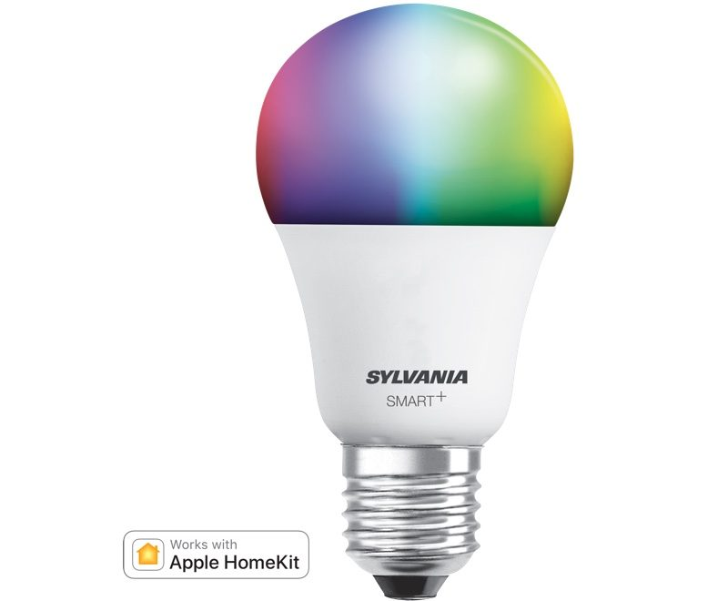 the benefit to the sylvania bulb is its ability to connect over bluetooth alleviating the need for a hub early on bluetooth homekit products were slow