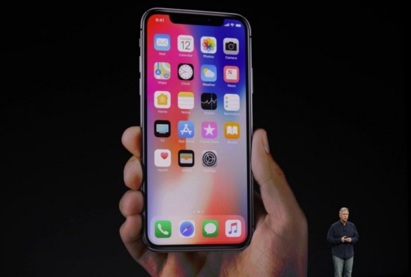 photo image Apple Announces 5.8-inch 'iPhone X' With Super Retina OLED Edge-to-Edge Display
