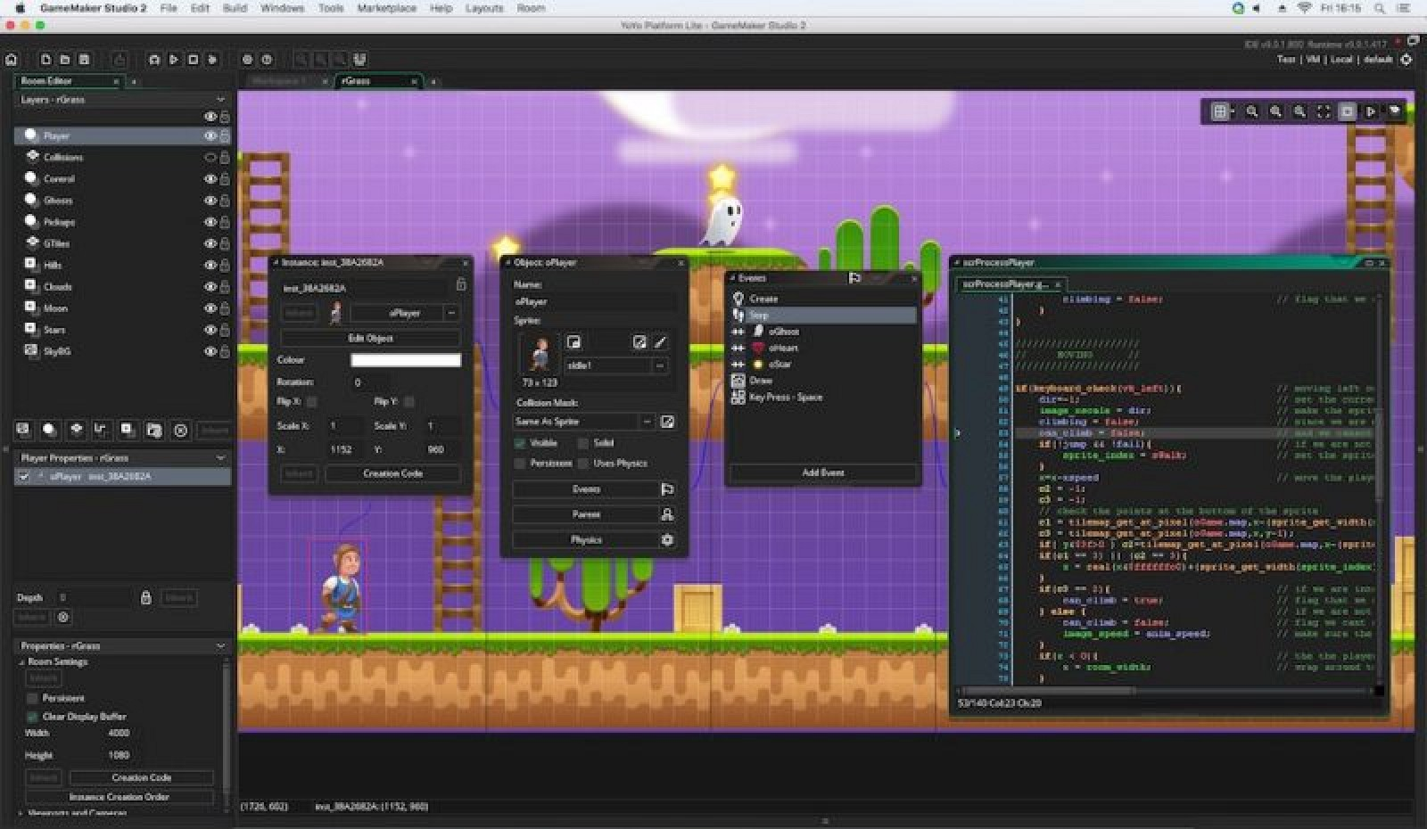 D Game Development Engine GameMaker Studio Debuts On MacOS - Game maker