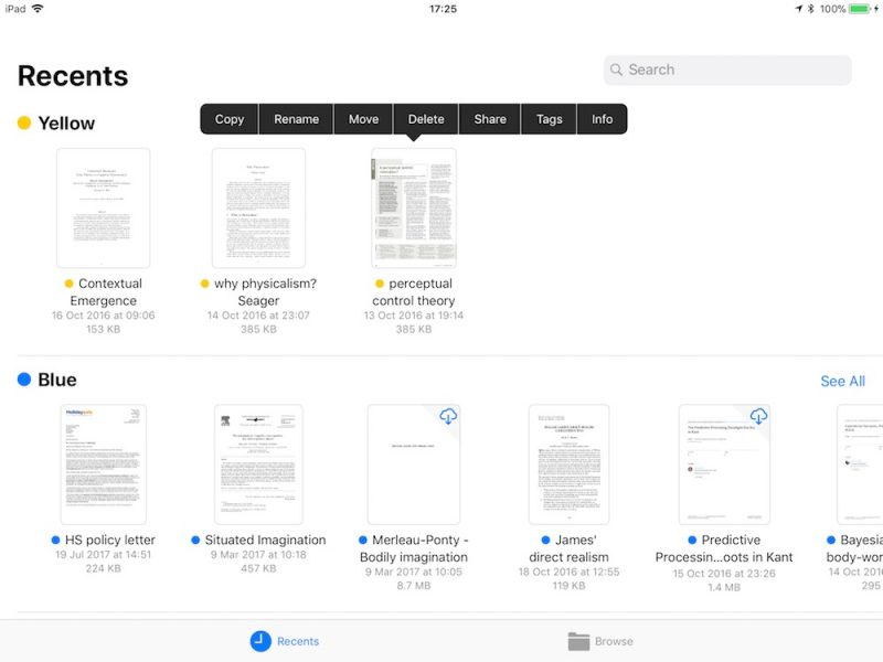 How to Use the New Files App in iOS 11 - MacRumors