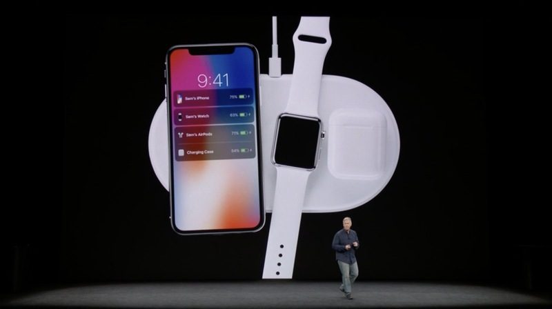 AirPower Is Able To Charge The IPhone X And 8 Inductively It Also Works With Apple Watch Series 3 Models A New AirPods Charging Case