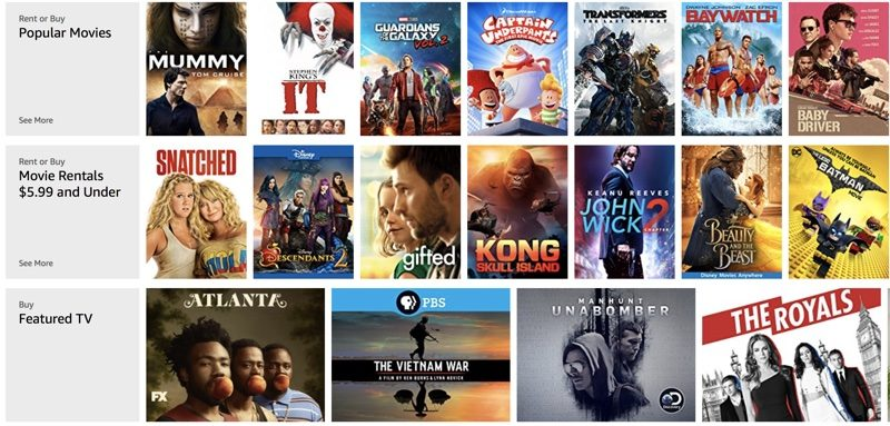 Amazon Drops Prices on 4K Content in UK After Apple Offers