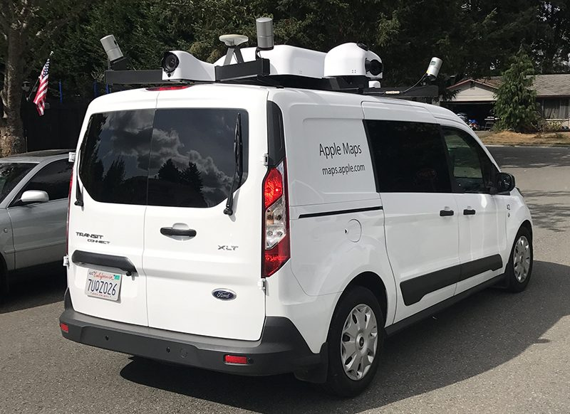 Apple Maps Vehicles to Begin Surveying Scotland and Wales ...