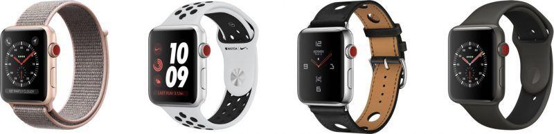 LTE Apple Watch to Cost $10 Per Month on AT&T, T-Mobile, and Verizon