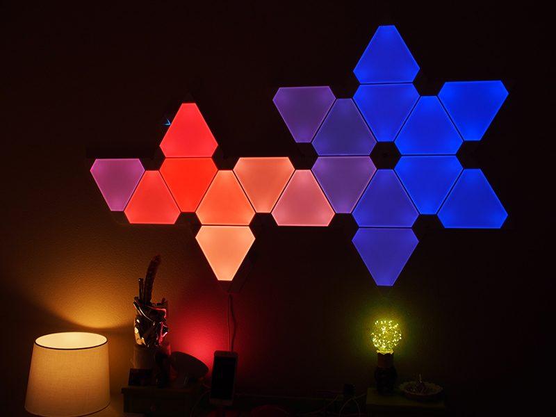Review: Nanoleaf\'s Fun $49 \'Rhythm\' Add-On Lets Your Aurora Light ...