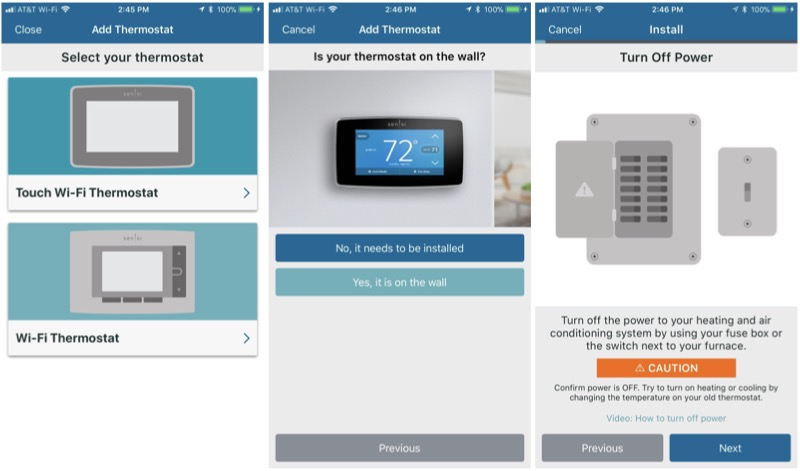 Review: Emerson\'s $200 Sensi Touch HomeKit Thermostat Offers a Large ...