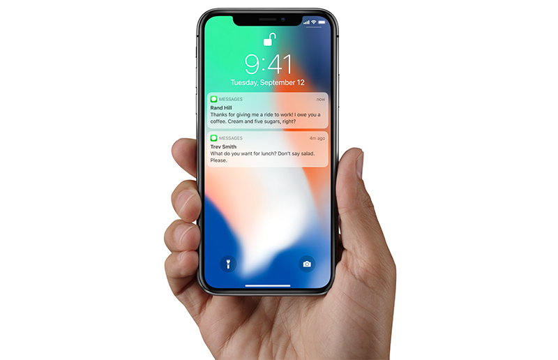 iPhone X Will Default to Hiding Text Previews of Your Notifications on the Lock Screen