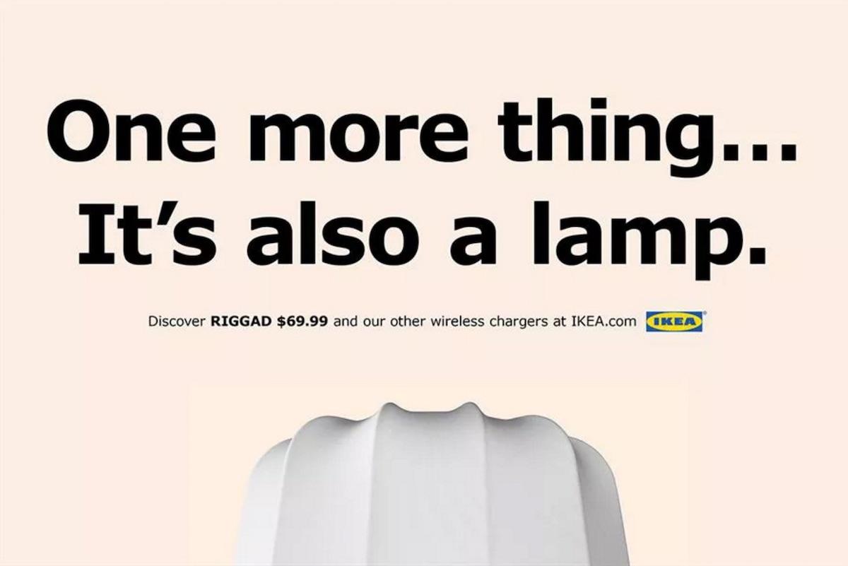 IKEA využívá bezdrátového nabíjení nových iPhonů k reklamní kampani