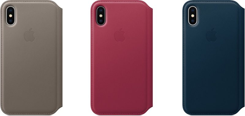huge discount 1783f 5cdcc Apple Releases New Accessories and Cases for iPhone 8 and iPhone X ...