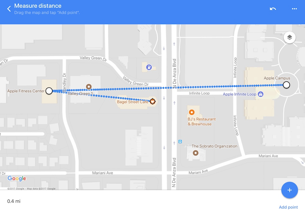 Google Maps App Update Brings 'Measure Distance' Feature to ... on maps to print and trace, maps food, maps state, maps car, maps city, maps and directions, maps of coastal northern california,