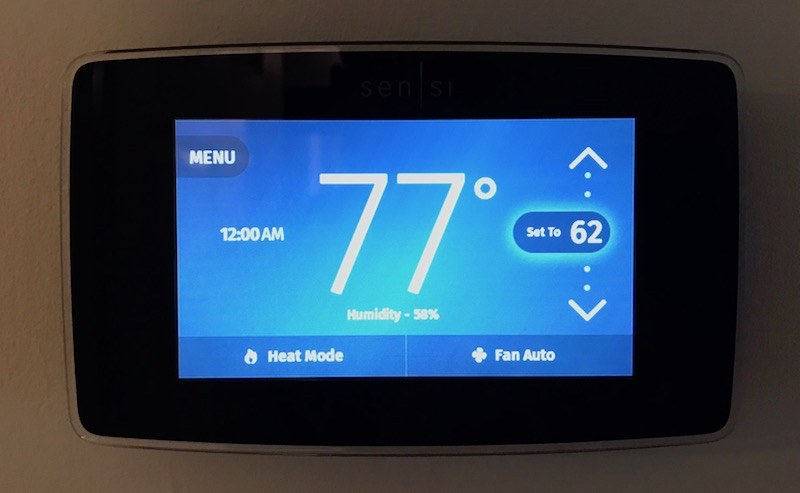 Review: Emerson's $200 Sensi Touch HomeKit Thermostat Offers a Large