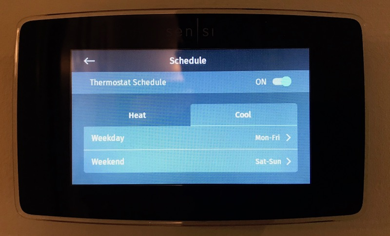 Review: Emerson's $200 Sensi Touch HomeKit Thermostat Offers