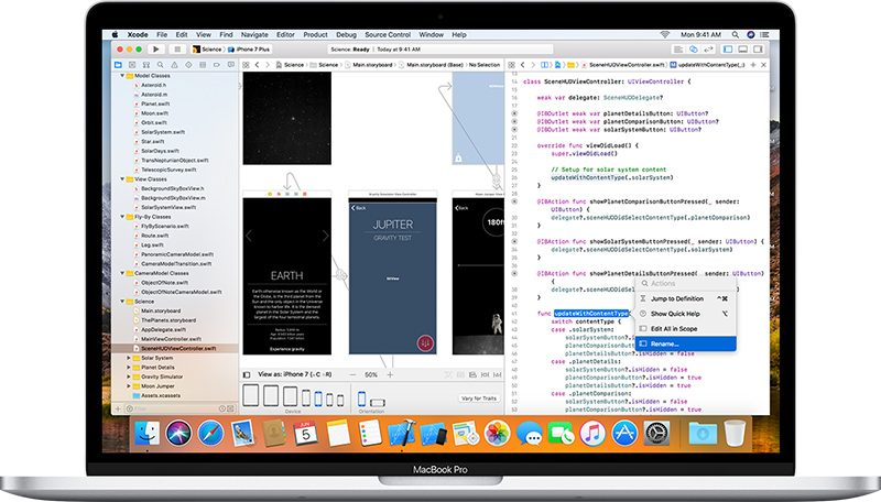 Apple Releases Xcode 9 With Swift 4 and iOS 11, watchOS 4, tvOS 11