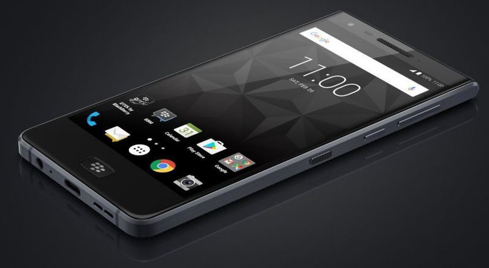 Blackberry Announces New All-Screen 'Motion' Smartphone with 4,000mAh Battery