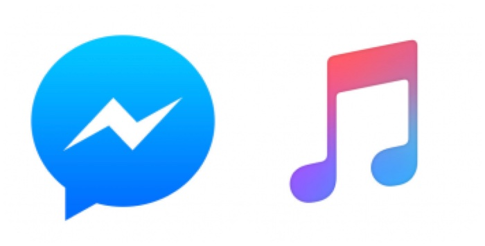 Facebook Messenger's Apple Music Chat Extension for