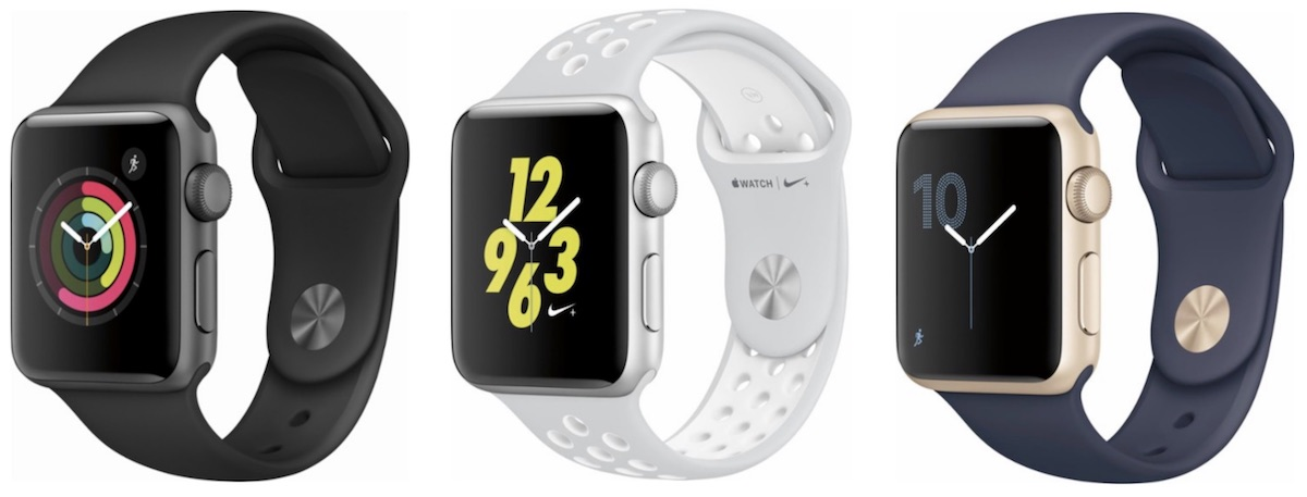Apple Watch Series 2 Aluminum Models Drop To 230 In 38mm And 260