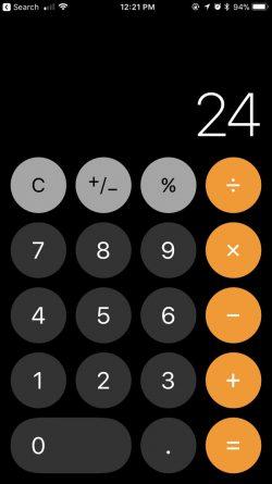 Taschenrechner-App-Symbol