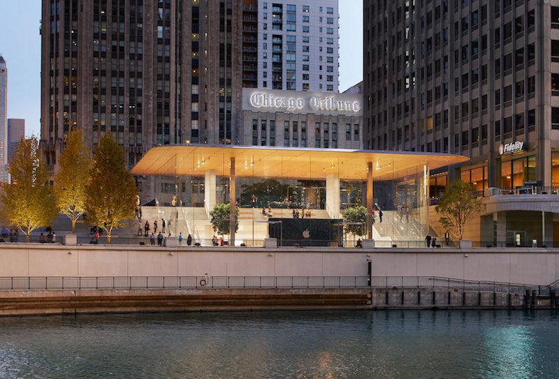 Apple dnes otevírá nový Apple Store Chicagu