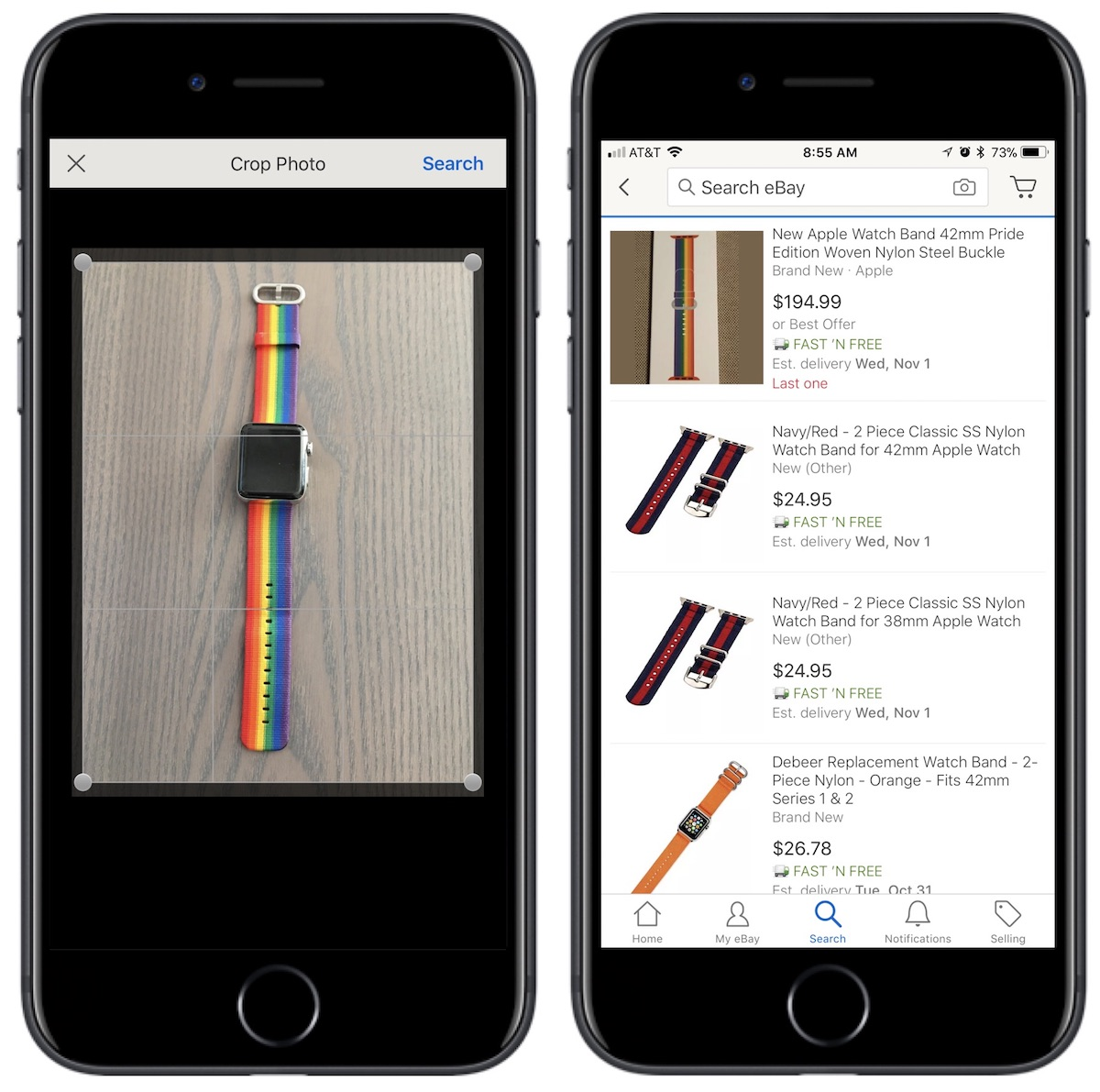 eBay's New Image Search Feature is Now Live Within iOS App - MacRumors