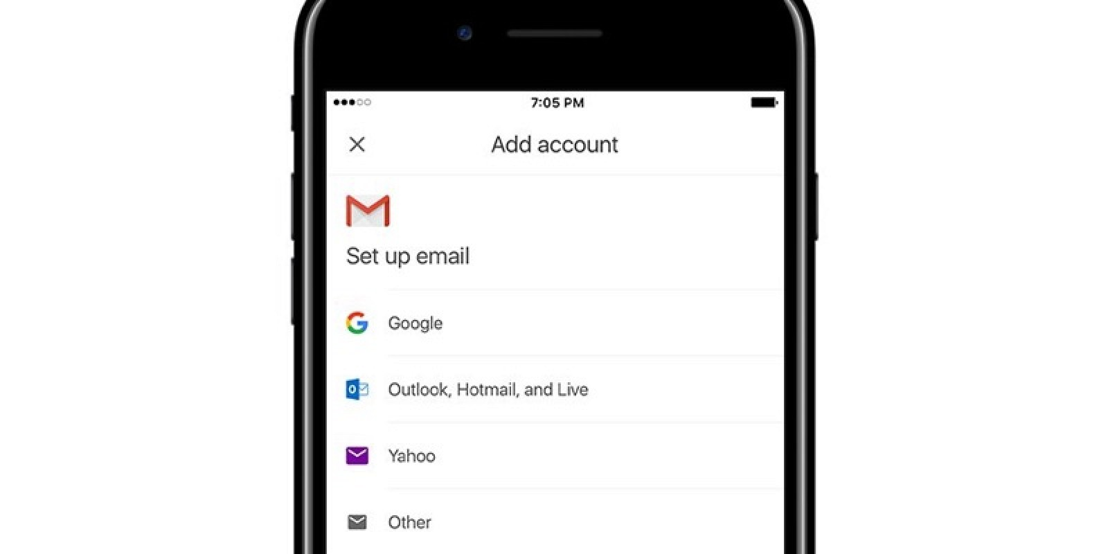 Google Testing Support for Third-Party Email Accounts in