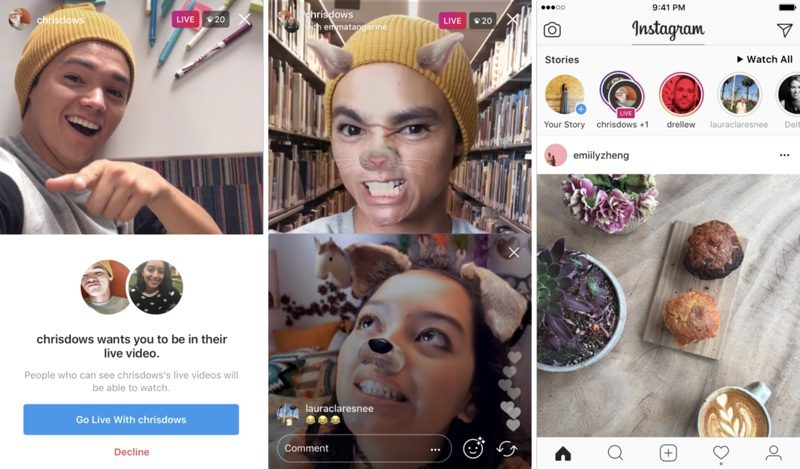 Instagram Launches New 'Live With a Friend' Video Feature