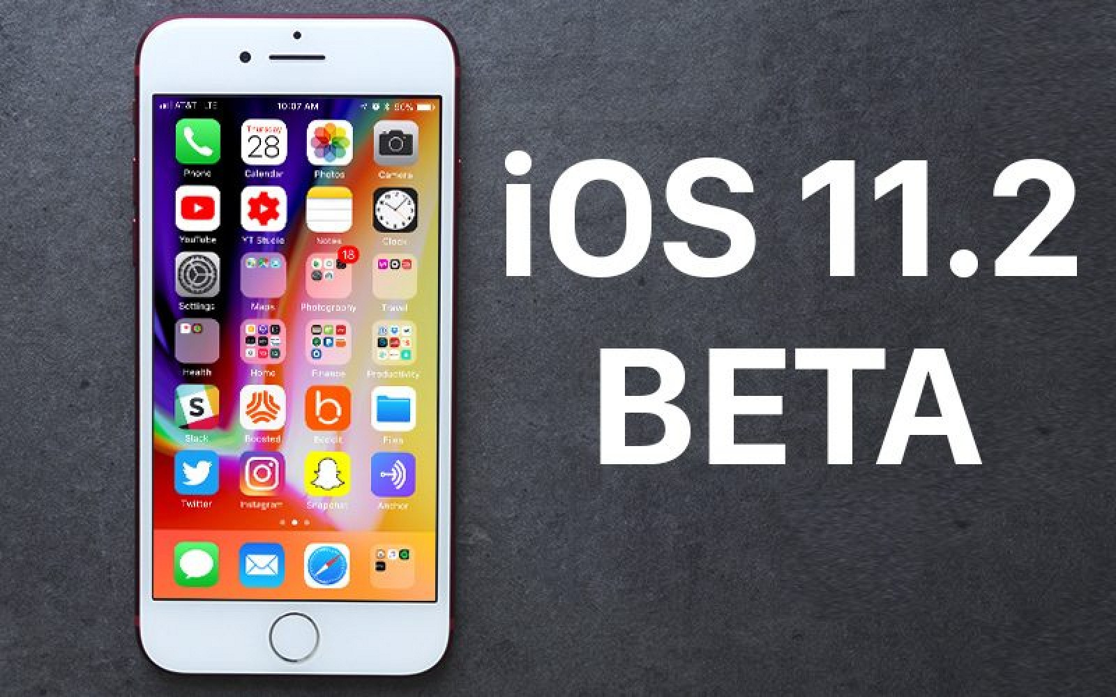 photo image Apple Seeds Third Beta of iOS 11.2 to Developers