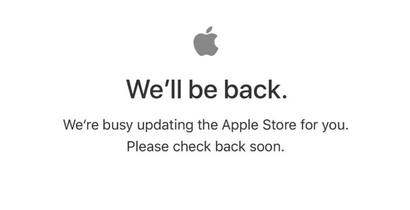 Apple's Online Store Down Ahead of 'Field Trip' Event in Chicago Today