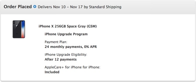 Apple Updating Some iPhone X Orders With Improved Delivery Dates ...